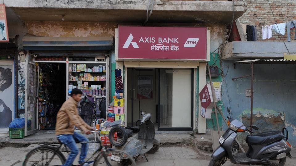 The ATM that was stolen from at Jharsa village on December 29 last year. There are more than 1,300 ATMs in Gurgaon district.