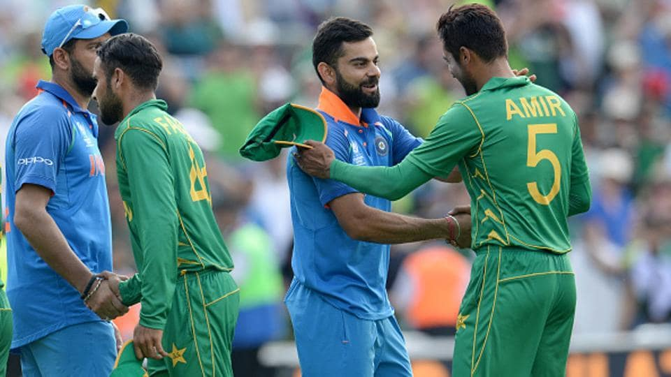 The last time India played Pakistan in a cricket match was the ICC Champions Trophy final in June 2017. India and Pakistan do not play bilateral cricket.