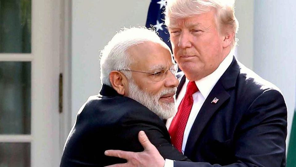 Prime Minister Narendra Modi meeting the President of United States of America (USA), Donald Trump, after the Joint Press Statement at White House, in Washington DC, USA on June 27, 2017.