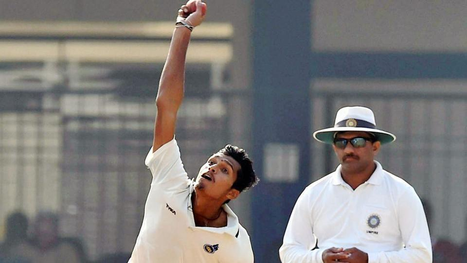 Navdeep Saini picked five wickets for Delhi. (PTI)