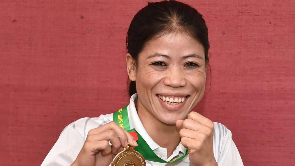 Mary Kom won an Olympic bronze at the 2012 London Games in women's boxing.