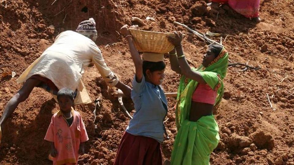 Women labourers,economic distress,farmer debts