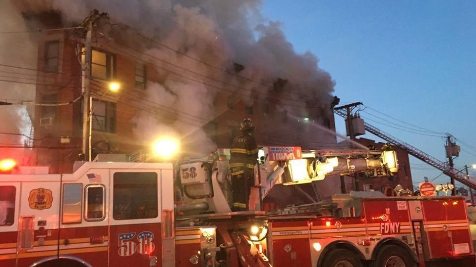 New York fire,Bronx,FDNY
