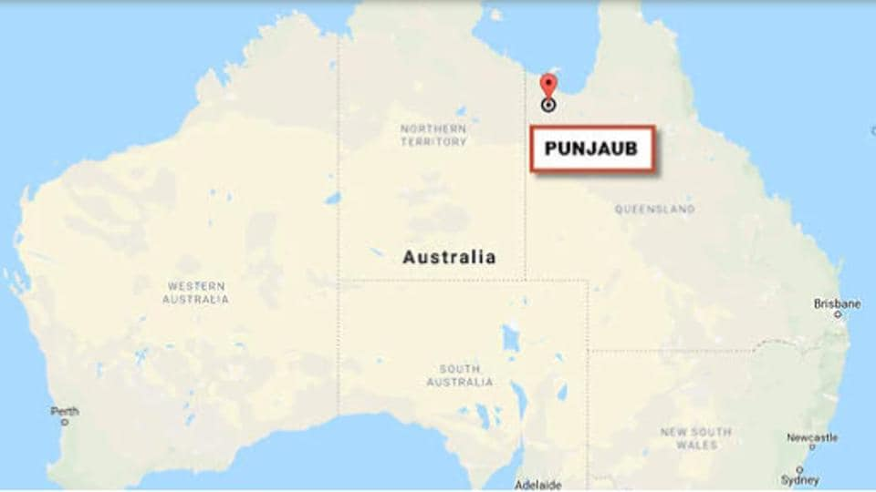 Several newspaper items preserved in Australia's national archives show that the area was formally named Punjaub in 1880, and it was specifically given this name because five rivers flowed through it.