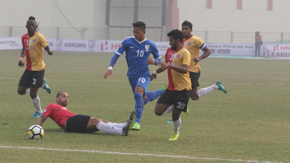 East Bengal earned an away win against Indian Arrows in the I-League on Tuesday.