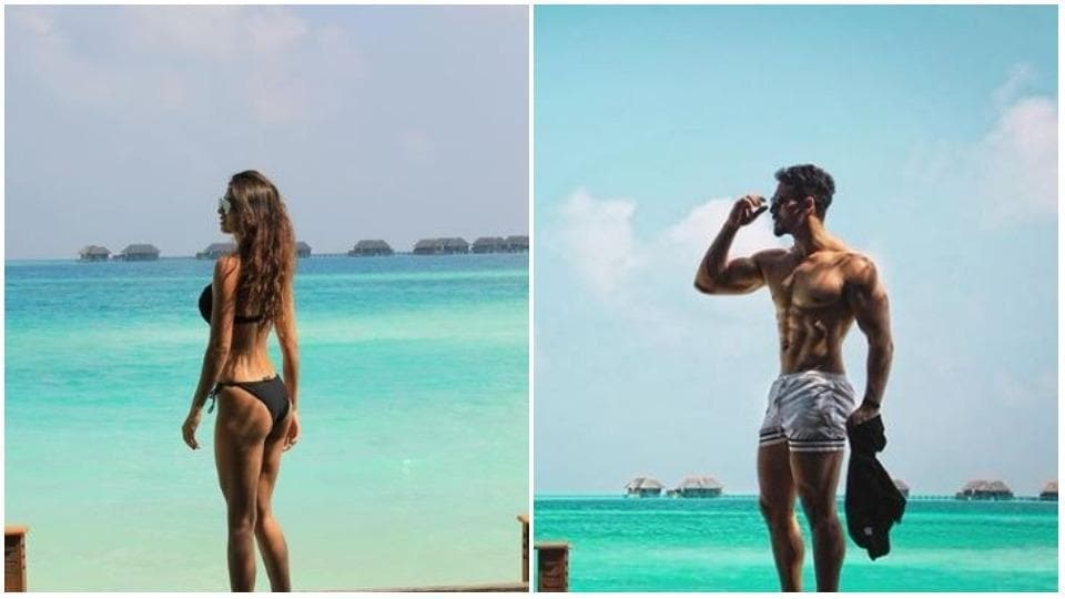 Disha Patani and Tiger Shroff are both in Maldives.
