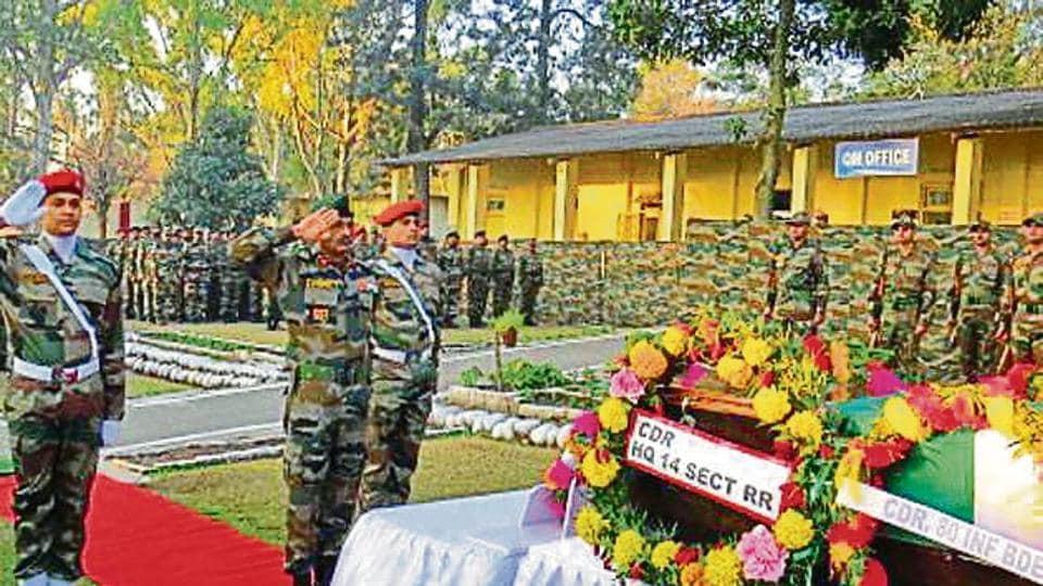 Slain sepoy,sepoy's body reaches Ferozepur,Ferozepur