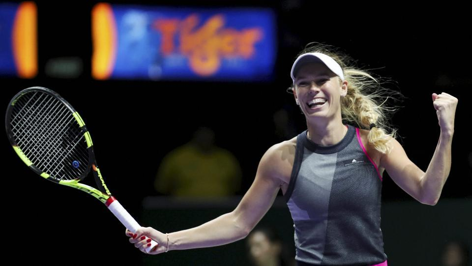 Caroline Wozniacki entered the second round of the WTA Auckland Classic, a tournament where she is the top seed.