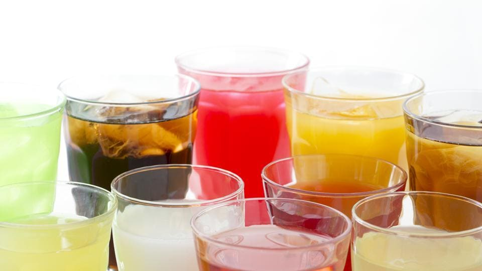 A new study cautions people against regularly consuming sugary beverages such as sodas and fruit juices.