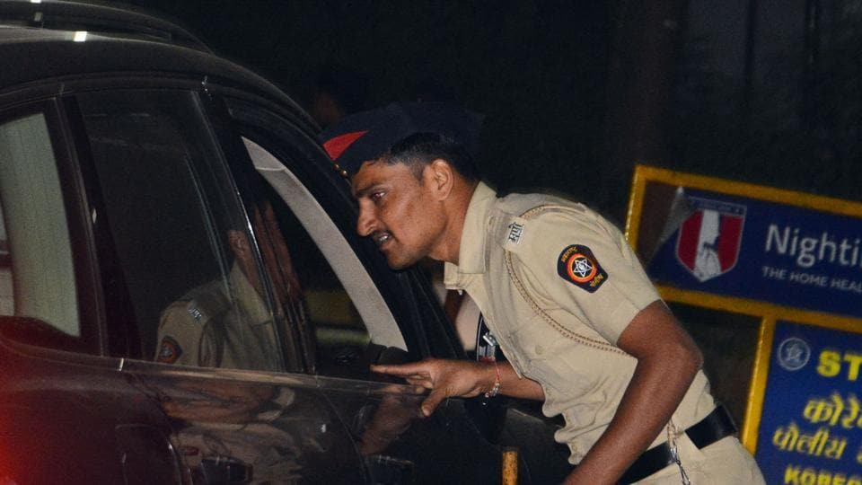 Over 800 traffic police officials were on their toes to regulate the traffic at 56 points in the city.
