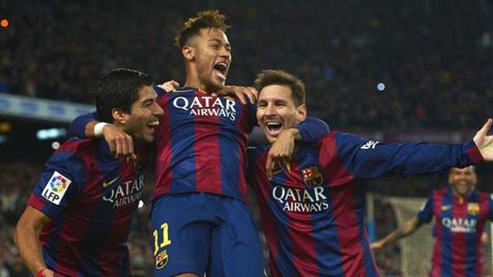 Neymar formed a formidable pairing with Lionel Messi and Luis Suarez when he played for Barcelona.