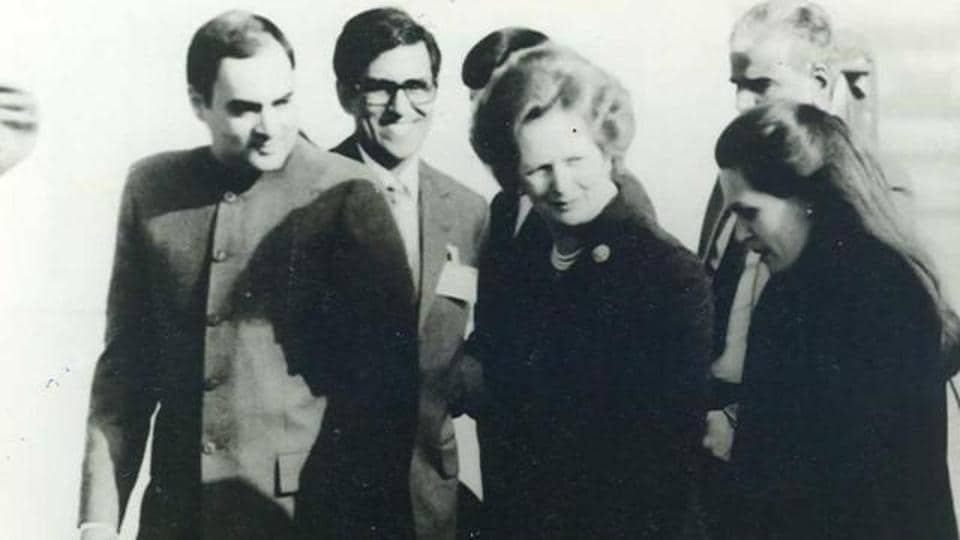 UK National Archives,Margaret Thatcher,Rajiv Gandhi