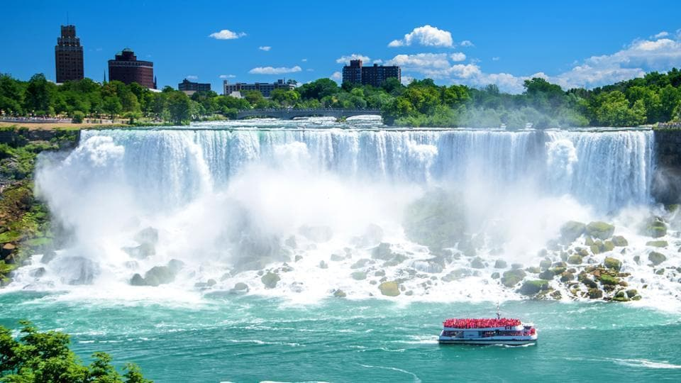 Niagara Falls,Travel,Niagara Falls in winter