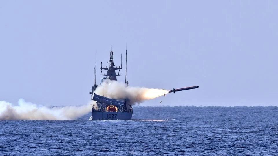 The indigenously-built missile was launched from PNS Himmat and it successfully hit the target, the Pakistan Navy said.