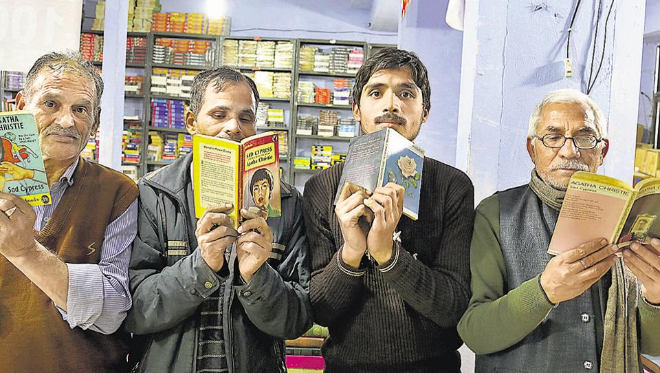 The Mukta Book agency in Daryaganj has all the 66 Agatha Christie mysteries — some in multiple editions and covers