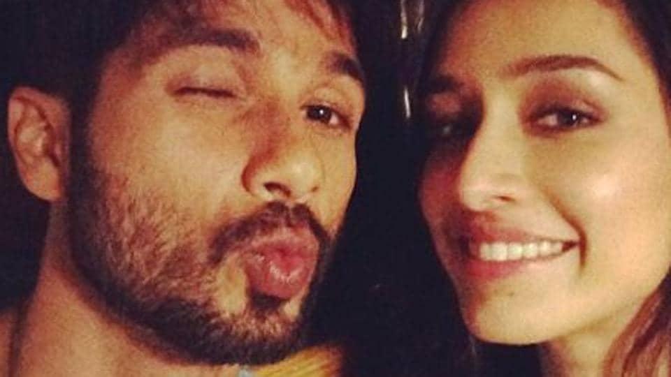 Shraddha Kapoor and Shahid Kapoor star in the upcoming drama Batti Gul Meter Chalu.