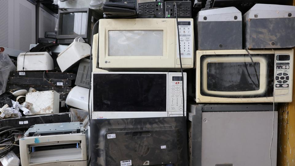 The consignments were imported as computer spares and new photocopiers, but later it was found they were e-waste containing hazardous substances such as cadmium.