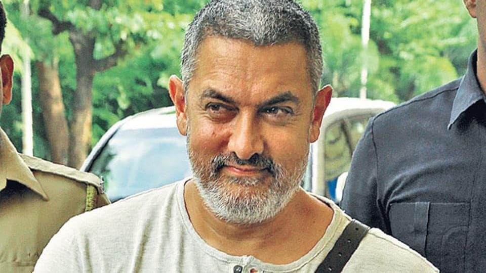 Aamir Khan played a retired wrestler in Dangal.