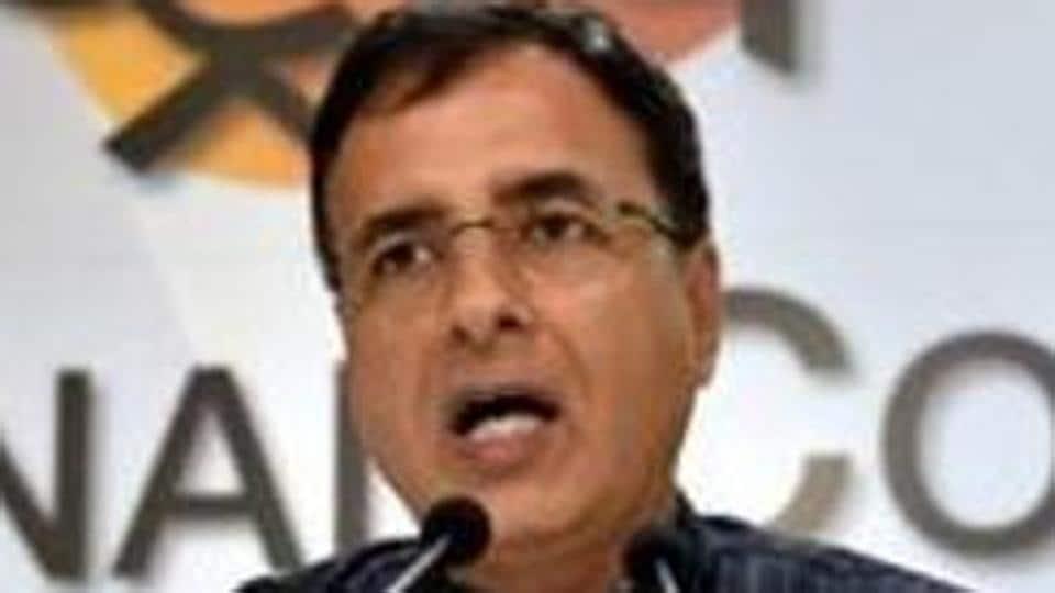 Congress spokesperson Randeep Surjewala.