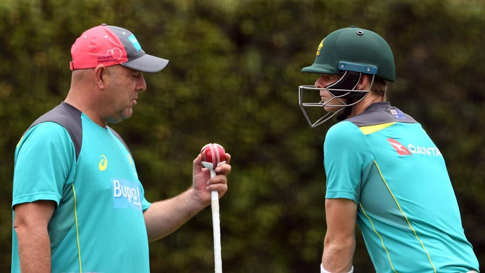 Skipper Steve Smith (R) has the hosts' challenge as they comfortably regained the Ashes from England. (AFP)