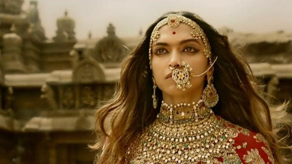 Deepika Padukone plays the titular role in Sanjay Leela Bhansali's Padmavati.