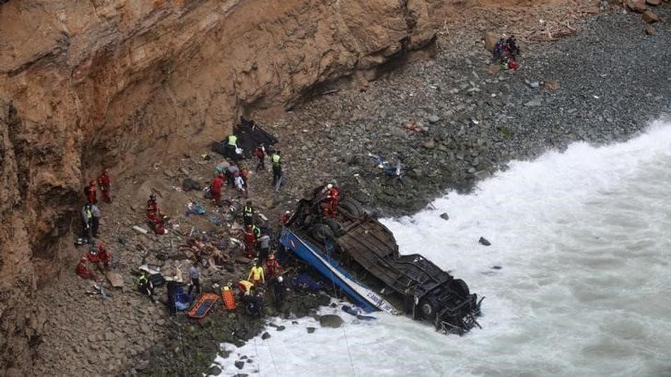 Peru,Pedro Pablo Kuczynski,Peru bus accident