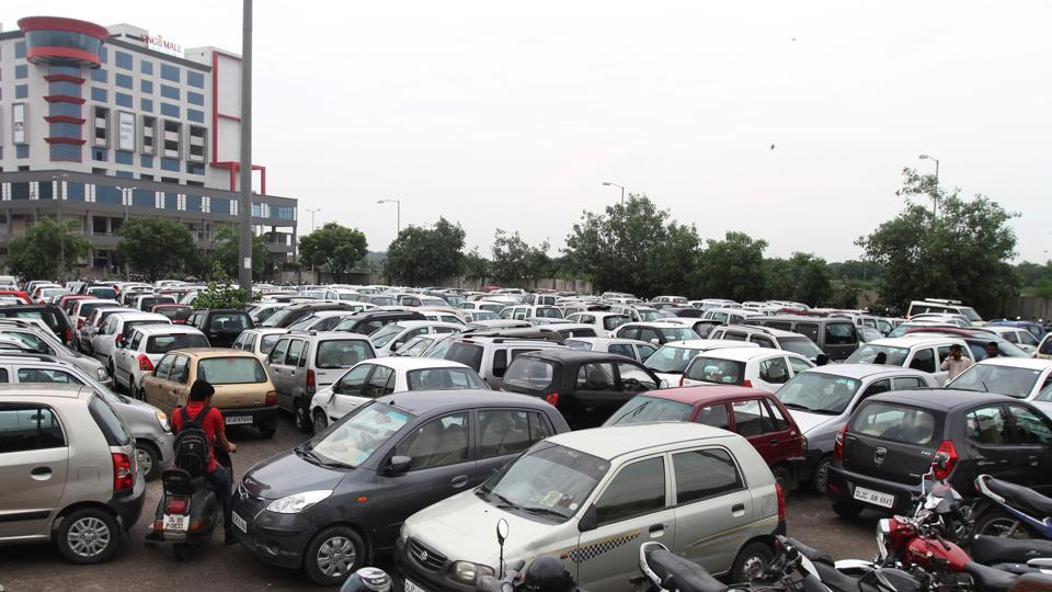 The complainant said his car was parked in front of Bhagat Singh Place, Gole Market, on Tuesday night when the theft took place.