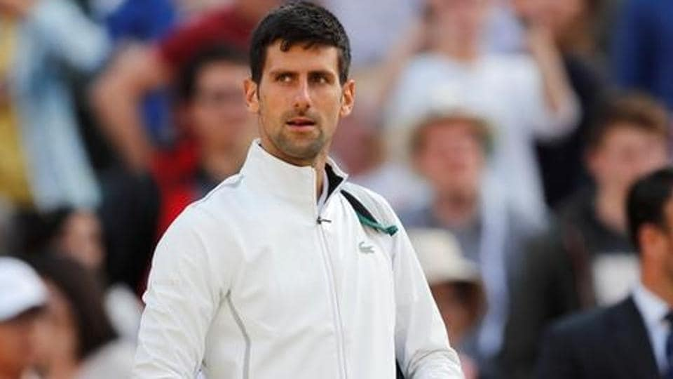 Novak Djokovic has not played since retiring against Czech Tomas Berdych with the injury in the Wimbledon quarter-finals in July.