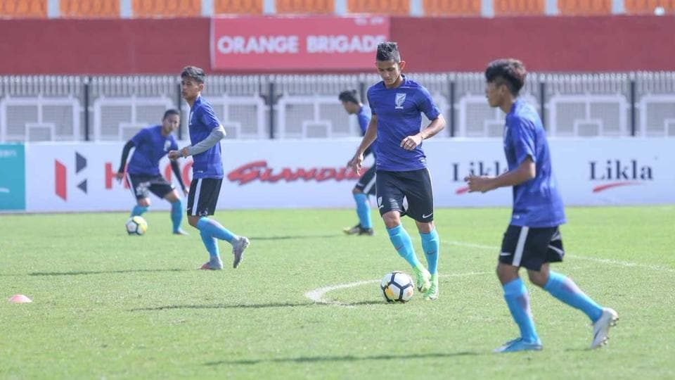 Indian Arrows face NEROCA FC in a crucial I-League encounter in Imphal on Friday.