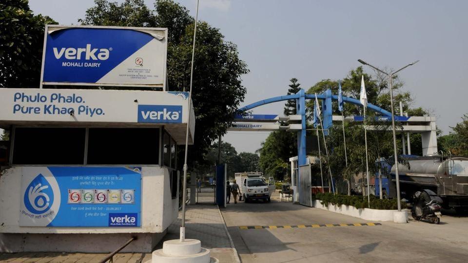 Verka milk,Verka in Delhi,Amul milk