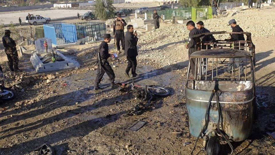 Killed, Dozens Wounded In Kabul Explosion