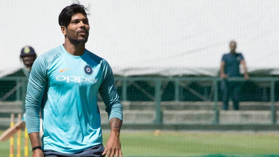 Umesh Yadav will hope to generate some good bounce and movement when he gets the chance to run in.  (AFP)