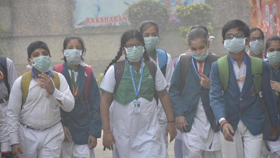 Children are more vulnerable to pollution because they breathe faster than adults per unit of body weight, thereby inhaling a higher amount of contaminants that damage their developing airways, lungs and immune system.