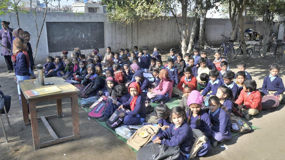 all schools in Rajasthan have been mapped and there was a primary school everywhere within one kilometre range