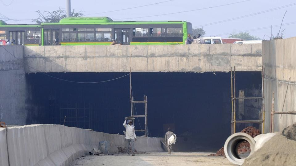 The Sector 94 underpass will help in addressing the traffic congestion witnessed by the motorists near Kalindi Kunj bridge, which connects South Delhi with Noida.