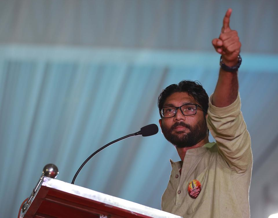 The Congress too, is attempting to build a rival 'rainbow' coalition by aligning with a new generation of aggressive and articulate Dalit-Bahujan leaders like Jignesh Mevani while also embracing a Hardik Patel.