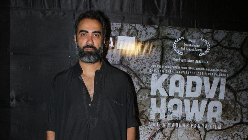 Actor Ranvir Shorey has been part of several acclaimed films