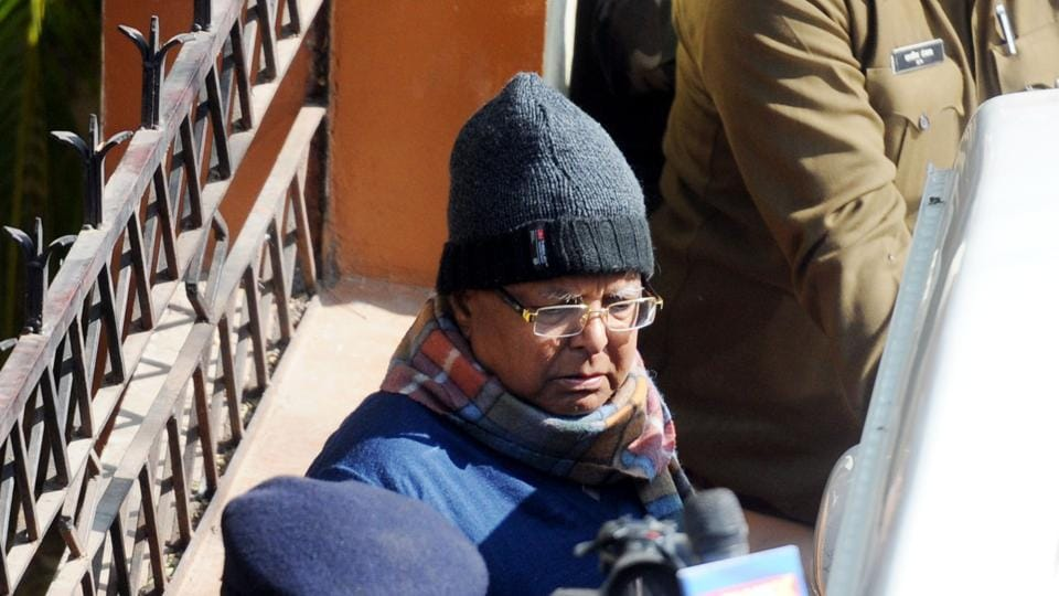 A special CBI court is expected to pronounce a quantum of sentence on Rashtriya Janta Dal Chief Lalu Yadav in the fodder scam case on Thursday. (Parwaz Khan / HT Photo)
