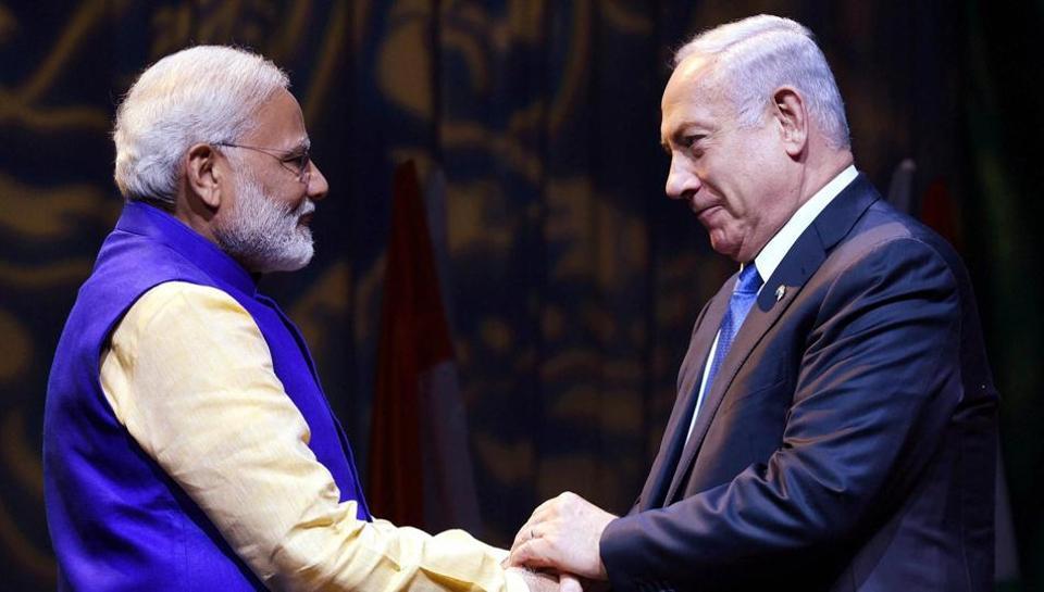 Benjamin Netanyahu,Narendra Modi,Gal-Mobile