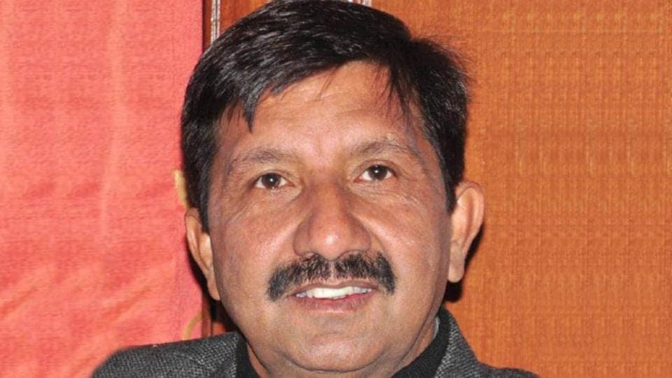 Haroli legislator and former Himachal Pradesh minister Mukesh Agnihotri.