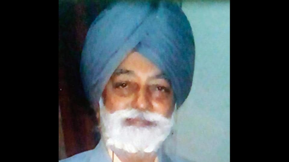 Afraid of losing vision,80-year-old shoots himself,Chandigarh