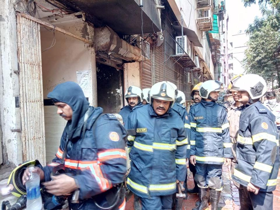 Dead, 5 Injured as Fire Breaks Out at Building in Marol