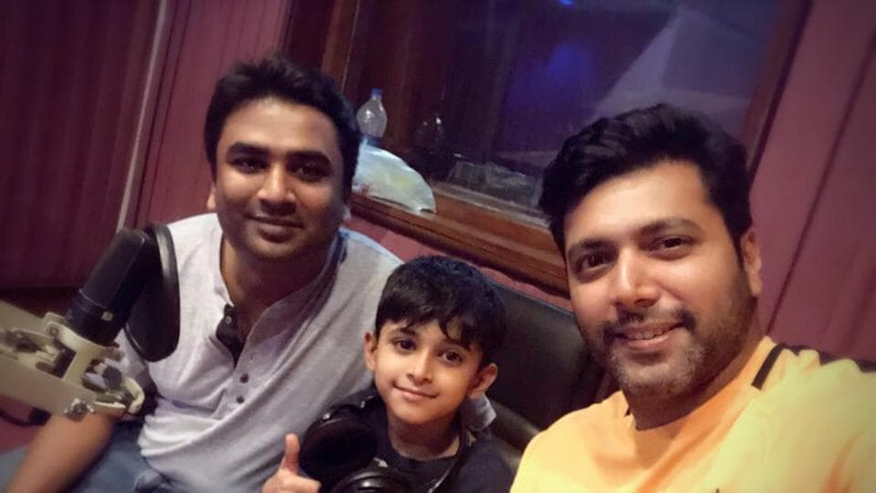 Tik Tik Tik actor Jayam Ravi will be seen sharing screen space with his son Aarav in the film.