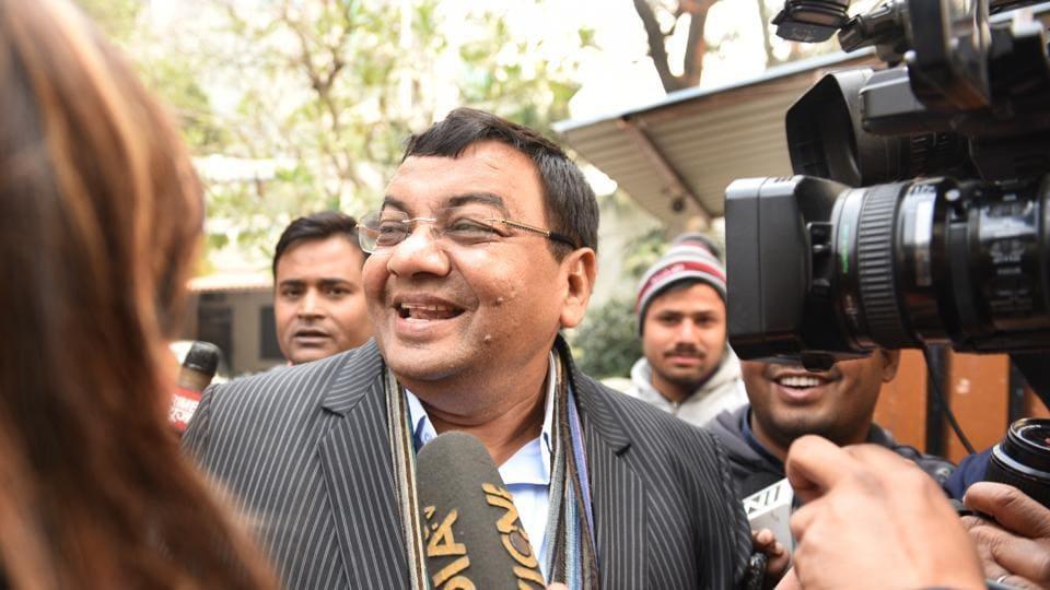 Rajya Sabha nominee of the Aam Aadmi Party Sushil Gupta, New Delhi on January 4, 2018