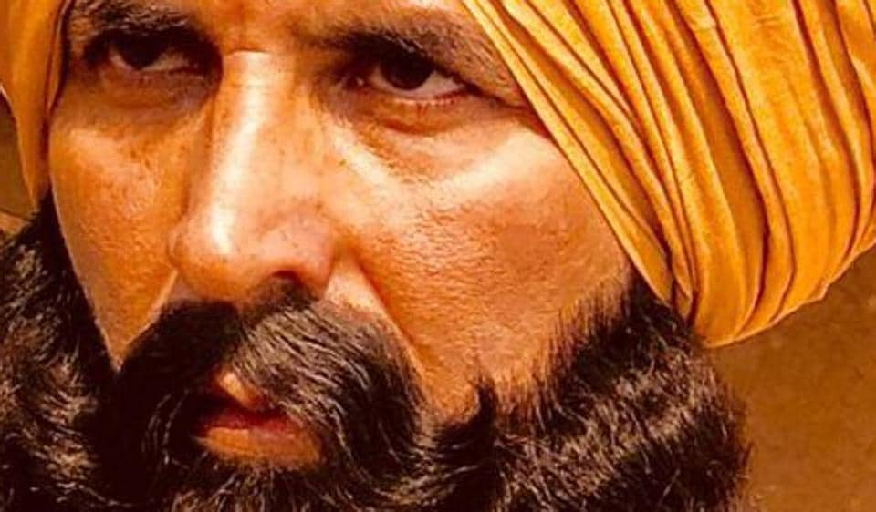 Akshay Kumar dons a startling new look for Kesari.