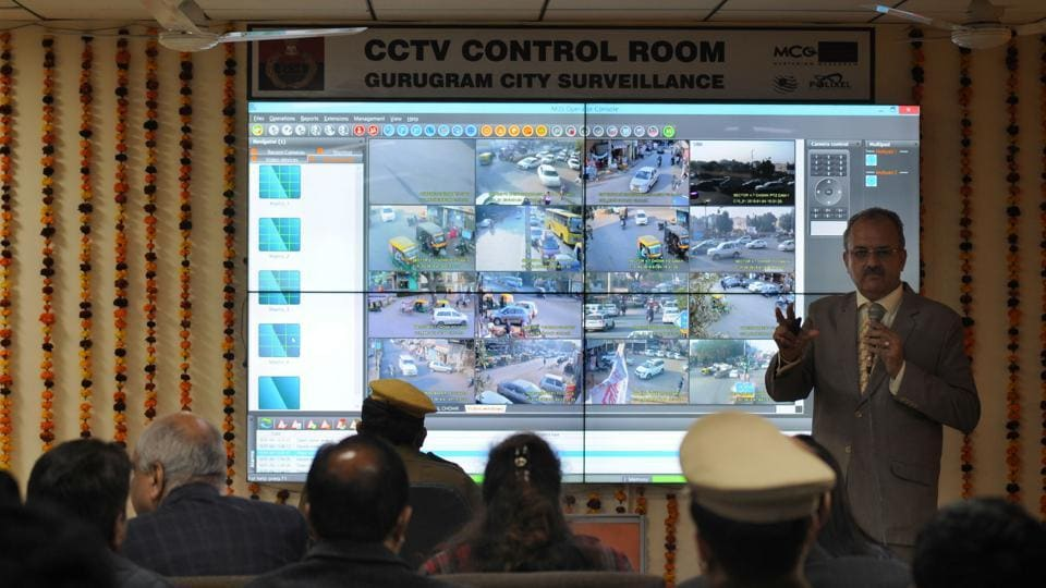 Gurgaon Gets Control Room To Monitor Cctv Cameras