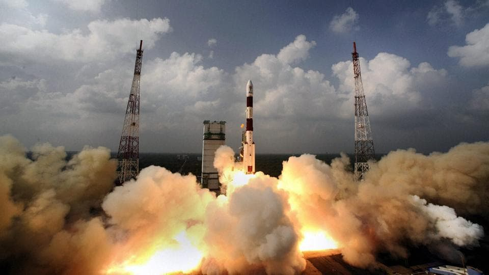 India successfully launched its first mission to Mars on board PSLV C25 from Satish Dhawan Space Centre (ISRO) at Sriharikota in Andhra Pradesh.