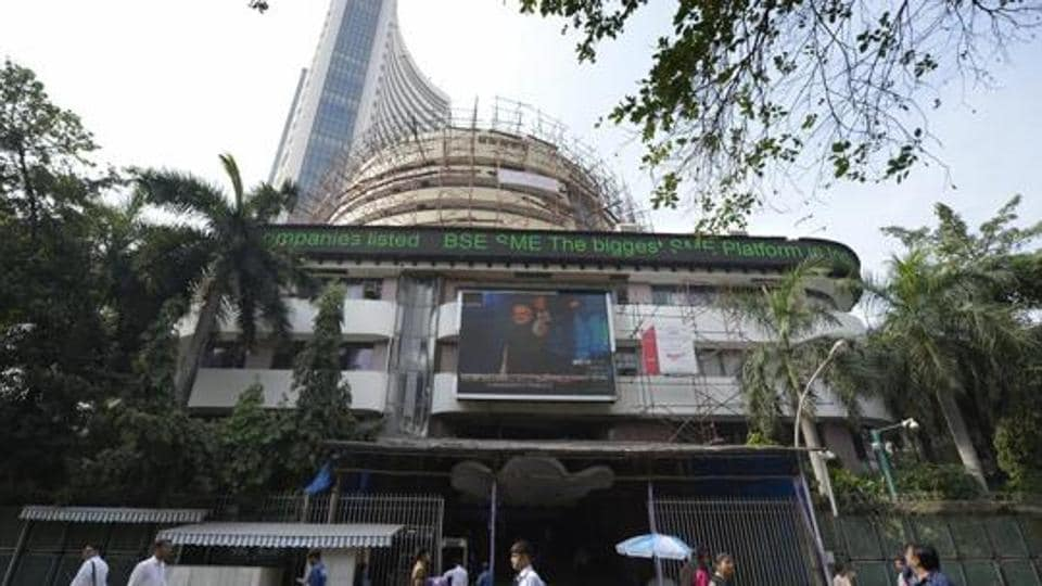 The benchmark Sensex reclaimed the 34,000-mark by surging over 100 points in early trade on Friday