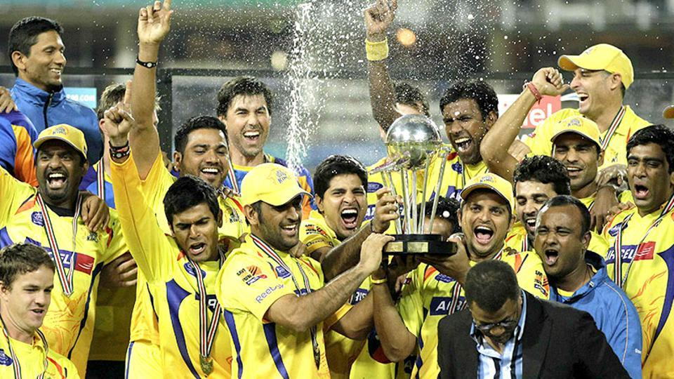 Chennai Super Kings won their first IPL title in 2010 after beating Mumbai Indians. (AP)