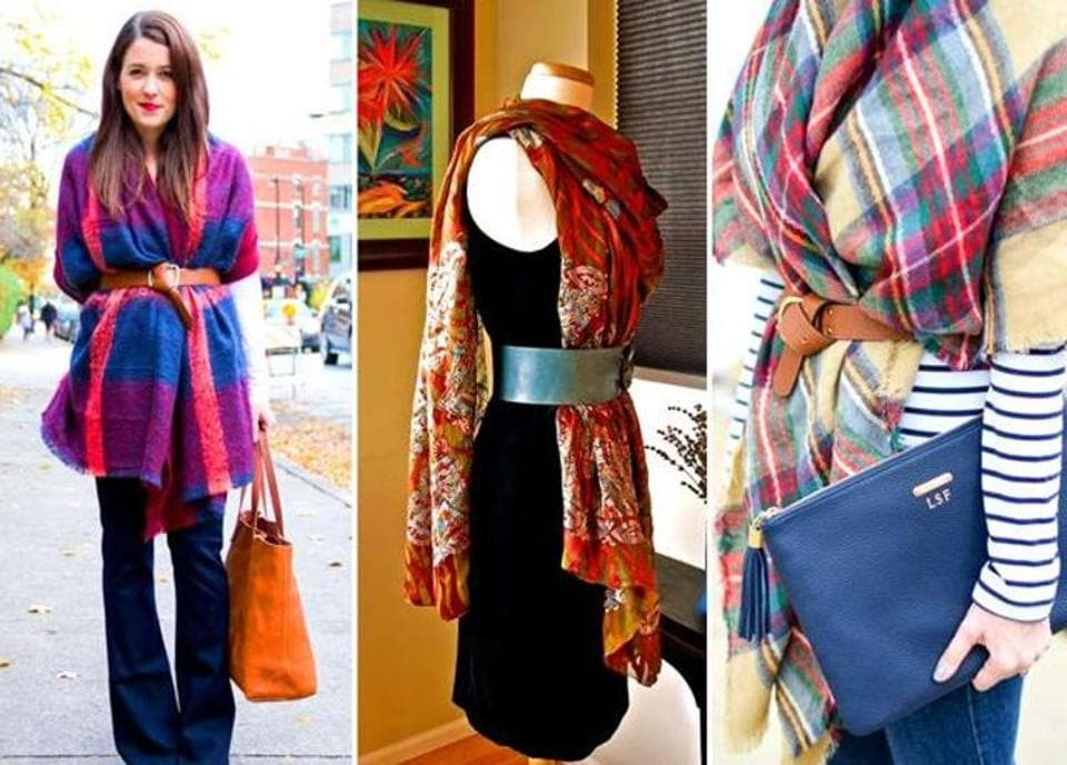 """Scarves never go out of style; they're just too functional in nature."""""""